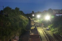 Photographs of Railway Engineering Work on the Cotswold Line in the Evesham Area