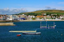Swanage Seafront, looking west, Isle of Purbeck, Dorset
